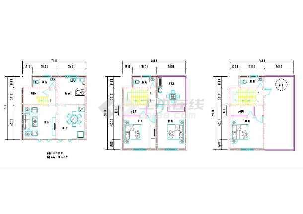 70平米农村小别墅设计图