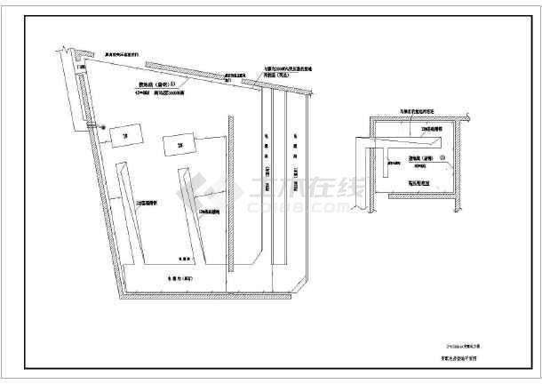 某地区2xx16001600kVA变施工工程设计CAD配电图纸高层图纸银湖别墅芜湖图片