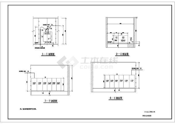 某地区2xx16001600kVA变配电工程设计CAD施工工业机械臂图纸图纸图片