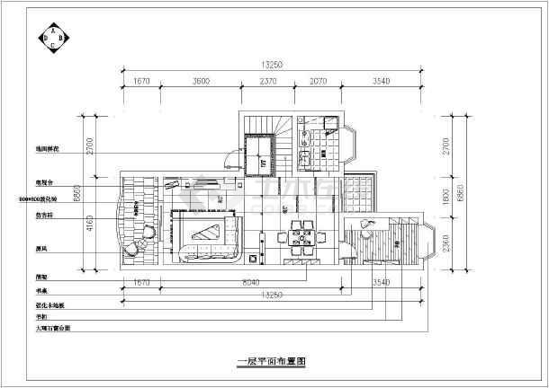 家庭设计高级全套的装修cad图纸