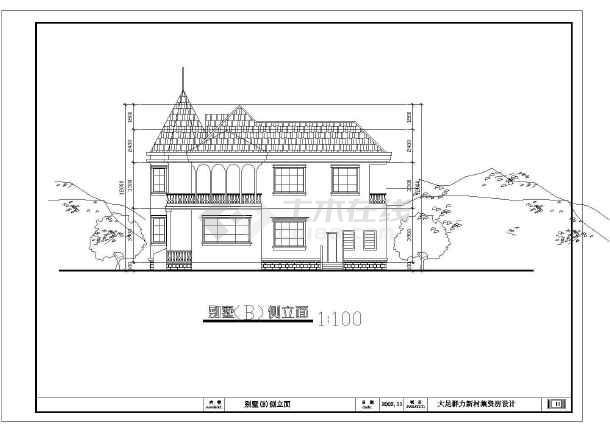 比较详细的一套大足群力新村建筑图-图1