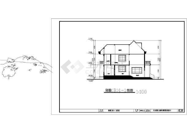 比较详细的一套大足群力新村建筑图-图2