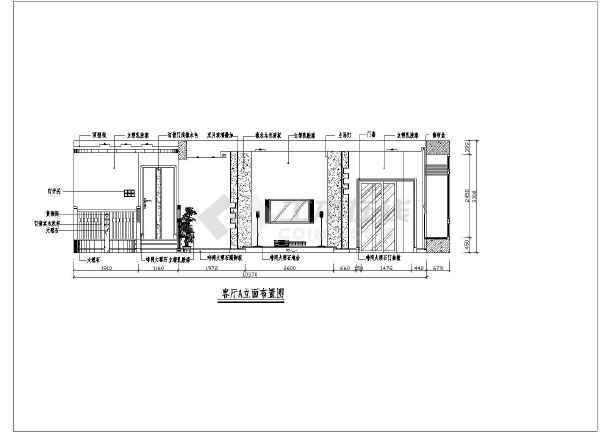 家居装修施工高级全套的cad图纸