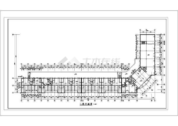 某地经典现代四合院建筑设计图 共7张