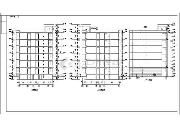 某地区住宅小区住宅楼施工CAD设计设计样板天正图纸绘制a4电气图图片
