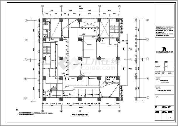 中行布局施工图纸cad设计竣工图纸电气cad复制为什么不能方案全套图片