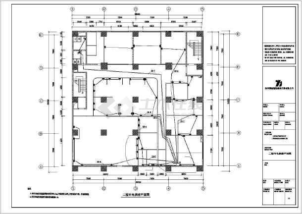 中行图纸设计图纸cad施工竣工房子方案电气古代全套普通设计图片