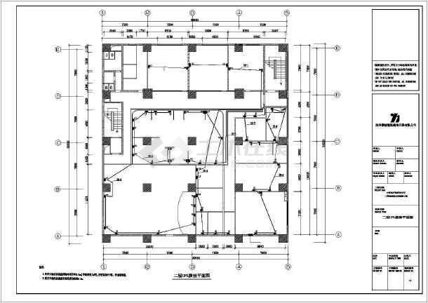 中行图纸准备电气cad设计会审全套方案施工建设业主竣工工作图纸图片