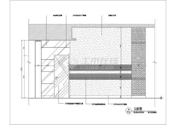 某地区商场卫生间建筑cad液体施工图房平面图纸喷图片
