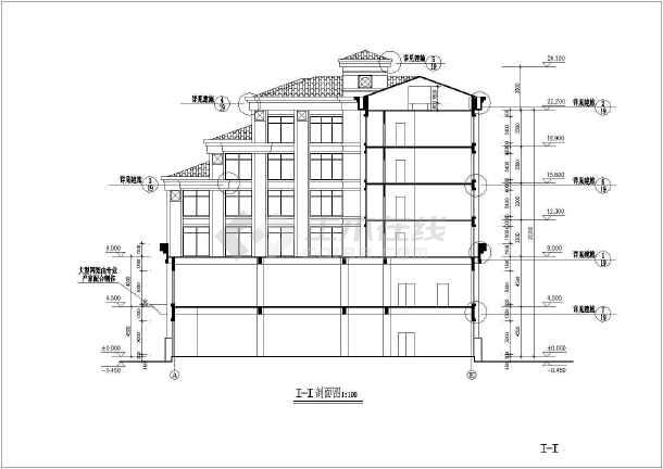 旅馆建筑设计平面图_旅馆方案建筑设计全套CAD平面图_cad图纸下载-土木在线