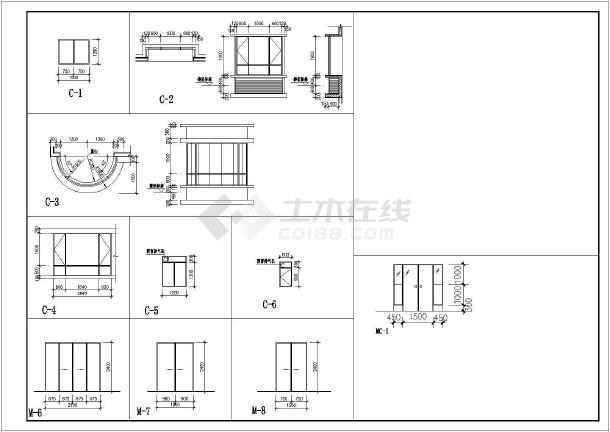 18米 11层1楼梯1电梯住宅楼设计图