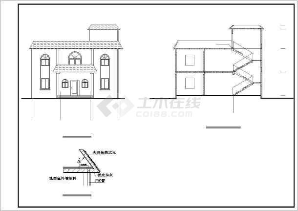 新农村两层别墅-BS-01详细设计图纸-图3