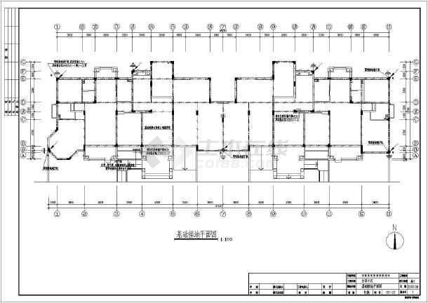 六层住宅楼电气v电气文档cad施工图2010cad在哪里兼容单全套图片