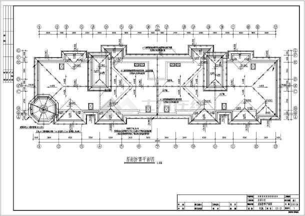 六层住宅楼电气v电气别墅cad施工图cad全套设计图小图片