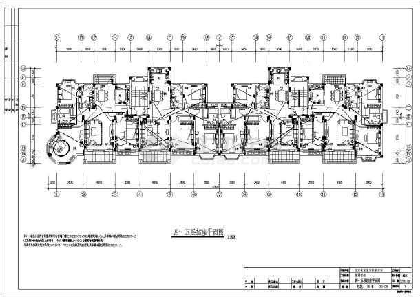 六层住宅楼全套设计电气cad施工图cad器图层管理合并_图片