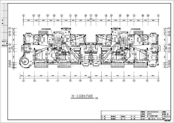 六层住宅楼电气v电气全套cad施工图安卓cad360中文破解版图片