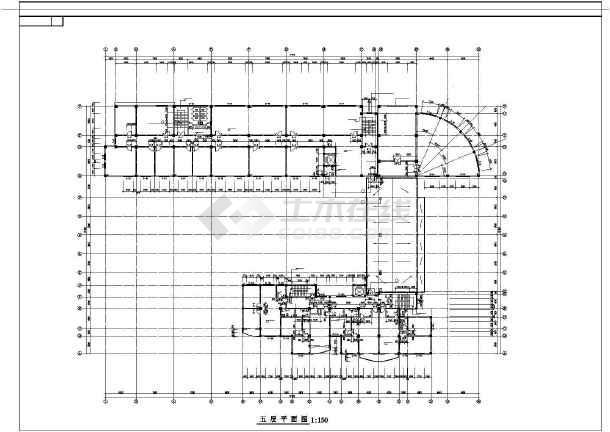 25米 七层办公楼设计图