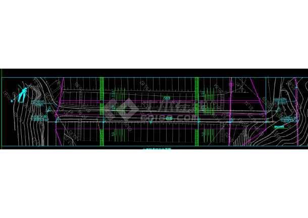 某水利工程坝体帷幕灌浆工程施工图-图2