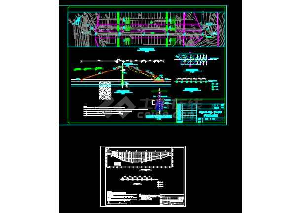 某水利工程坝体帷幕灌浆工程施工图-图3