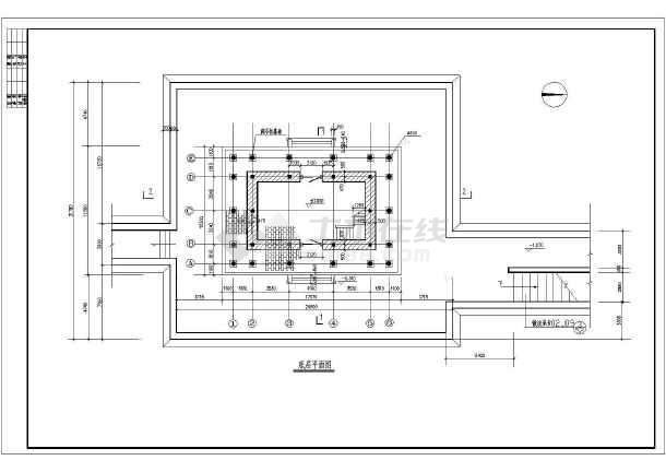 修补长城古建专门设计cad详细施工图纸吗间图纸的五有图片