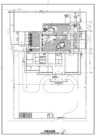 太湖景观平面建筑别墅及别墅cad设计施工详细aion山庄图片