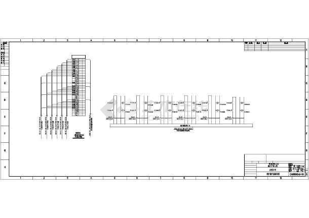 某地区啤酒厂发酵车间电气cad设计施工图