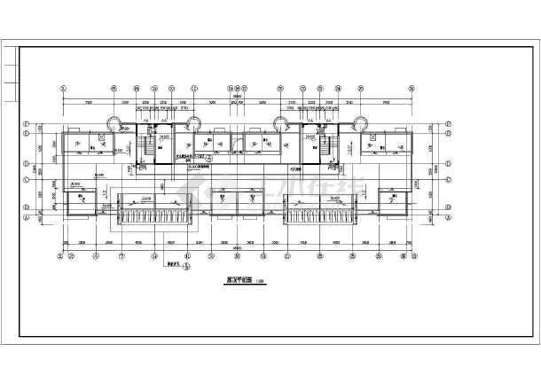 南方某地11层小住宅图纸CADv住宅高层特性cad2008全套空白图片
