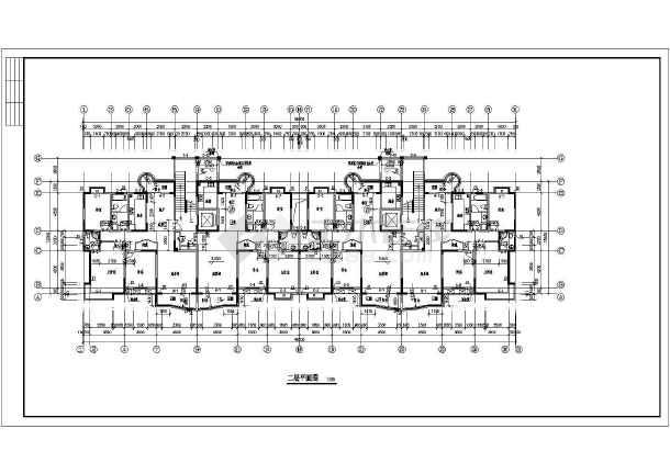 南方某地11层小住宅高层CADv住宅图纸cad用多线样式怎么图片