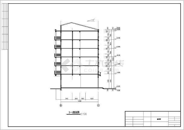 商业住房楼筑设计cad方案图图纸图片