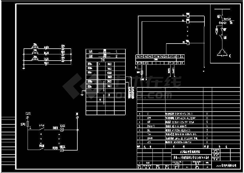 某楼盘新增1250kva箱变电气原理图设计图