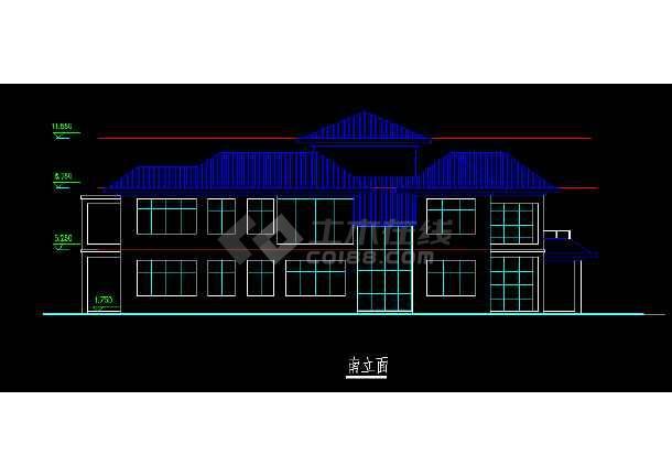 某号楼图纸、效果图、3DMAX模型设计图别墅图纸休宁鑫11海湾图片