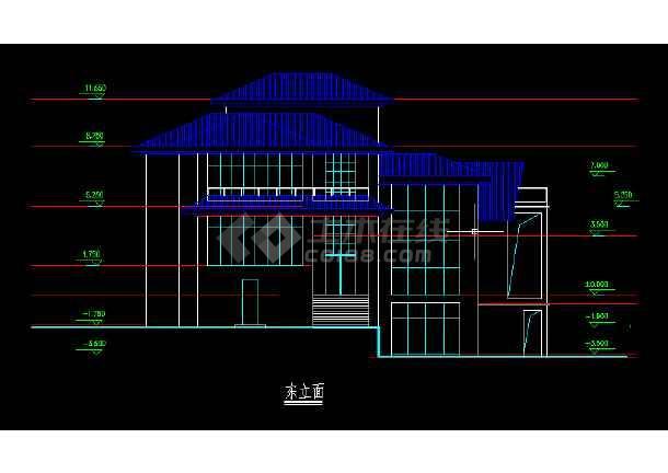 某图纸模型、效果图、3DMAX图纸设计图别墅v图纸工高图片