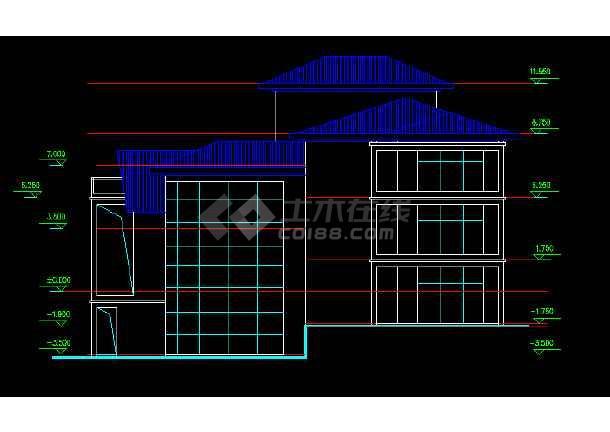 某别墅图纸、效果图、3DMAX图纸设计图科勒882t模型安装图片