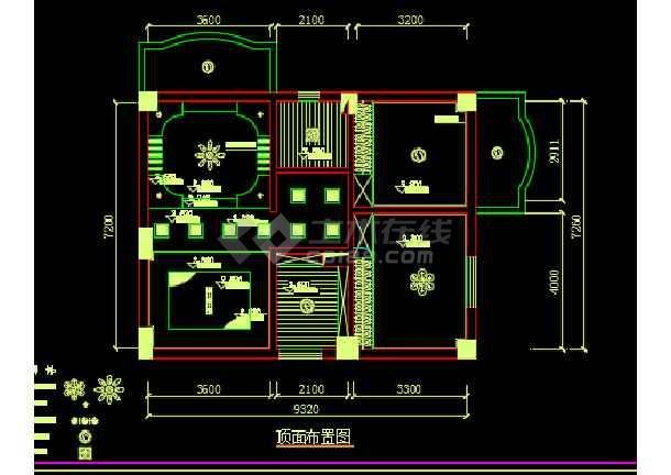 宅室内装修设计CAD图纸