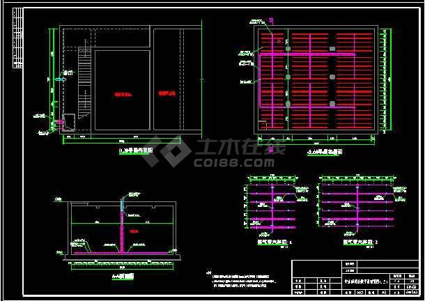 中水回用及浓水处理系统设计CAD图纸-图3