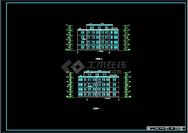 五层框架结构教学楼建筑、结构设计全套毕业设计(计算书、建筑图、结构图、摘要、翻译、目录、说明)-图1