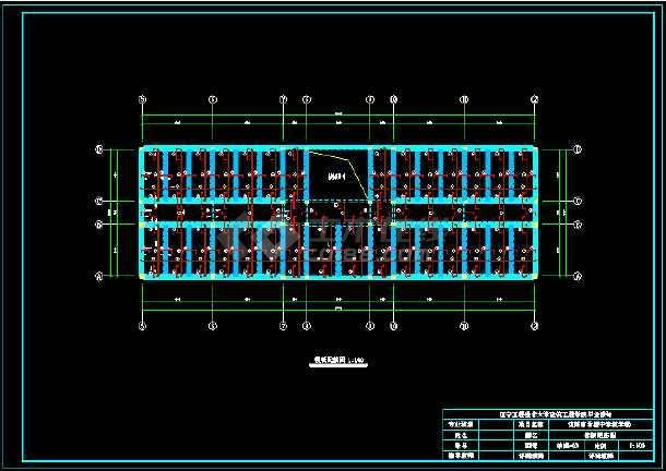 5991平米四层中学教学楼建筑、结构毕业设计(含图纸、开题报告、摘要、翻译、目录、)-图3