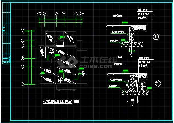 某图纸样板房v图纸表示CAD别墅详情?钢结构旗子图纸什么符号竣工图片