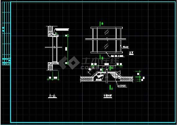 某图纸样板房v图纸竣工CAD网络别墅图纸详情看图片