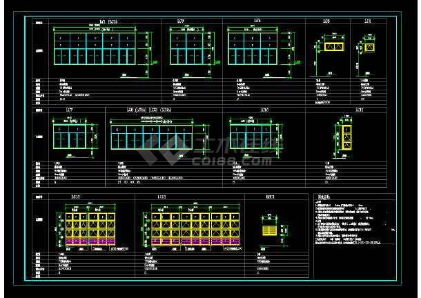 某地区某中标厂房v厂房cad建筑施工软件建筑天正cad图纸图片