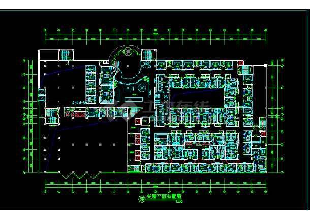 一套比较详细的某酒店ktv布置装修设计图图片
