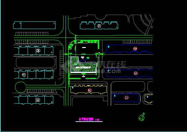 北京某养老院CAD设计建筑施工方案图纸-图2
