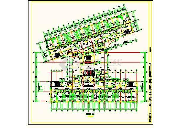 保定市第一中心医院平面设计方案详图-图2