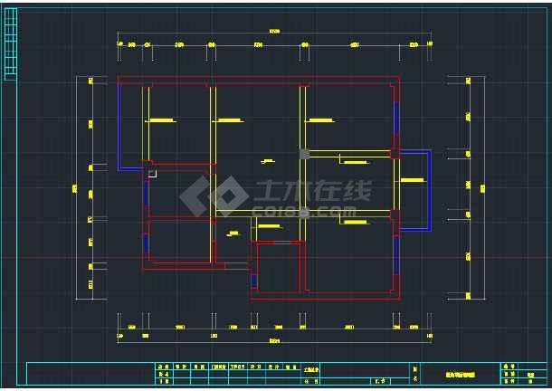 某精品A户型全套装修设计CAD图纸