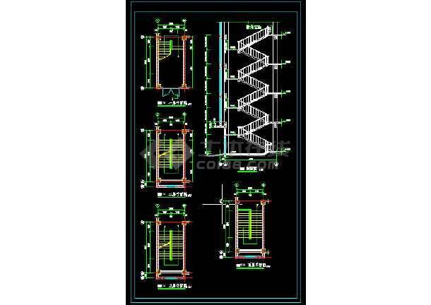 3341.67平米五层框架结构教学楼建筑结构施工图-图2