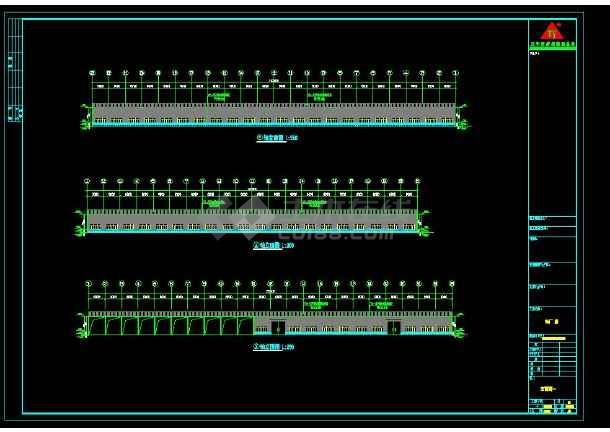 某地区安微晨旺钢结构工程设计CAD平面cad布置图图纸步骤图片