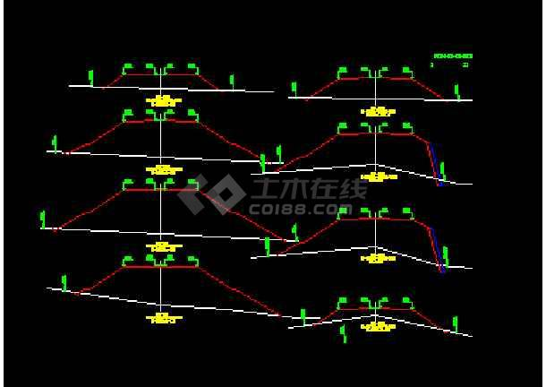 路基-Ⅰ级宽度教程26m毕业设计,(总说明、路线cad公路百度图片