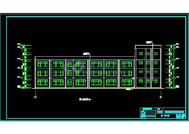 某4层幼儿园全套设计 (2000~3000平,含计算书,建筑图,结构图,毕业答辩