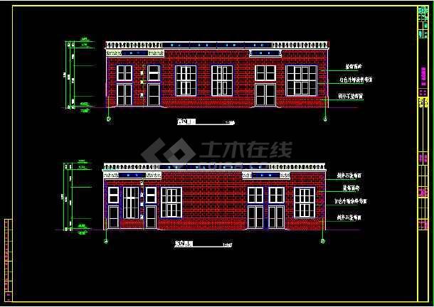 某315平米医院制氧站建筑面积CAD施工图纸-图2