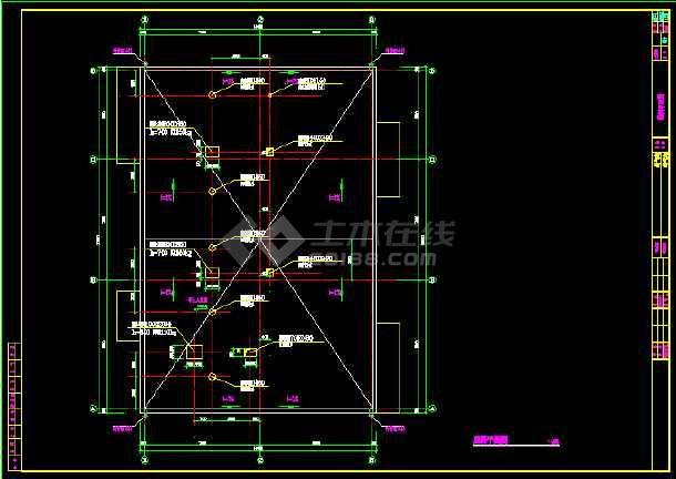 某315平米医院制氧站建筑面积CAD施工图纸-图3